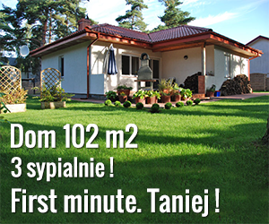 Dom letniskowy dla 10 osób w Poddąbiu